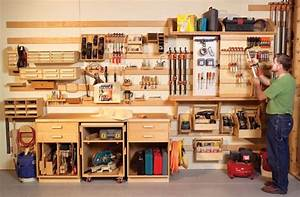 Plan Atelier Bricolage : woodworking storage ideas woodworking the art of crafting ~ Premium-room.com Idées de Décoration