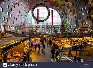The New Market Hall In Rotterdam Restaurants Food Shops