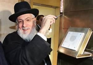 Former Chief Rabbi of France, Joseph Sitruk, passes away ...