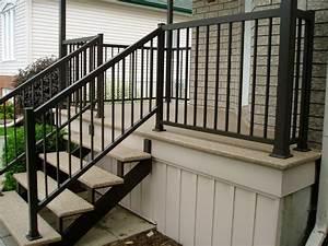 8 best rampes d39aluminium images on pinterest banisters With modele escalier exterieur terrasse
