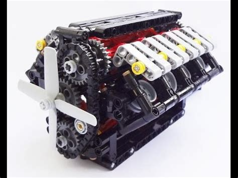 crowkillers custom  scale lego technic  engine