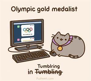 Woozworld news: Pusheen the cutest drawing of a cat