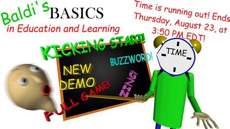 baldis basics  education  learning full game
