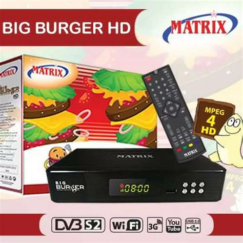 Harga Receiver Matrix Nexia 2 harga dan spesifikasi receiver matrix big burger hd