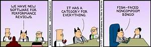 Dilbert on perf... Software Employee Quotes