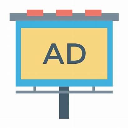 Advertising Clipart Vector Billboard Library Tv Stencils