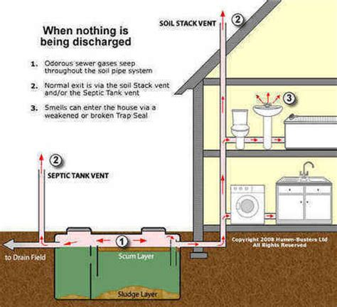 toilet tank cover drain smell sewage stink smelly sink