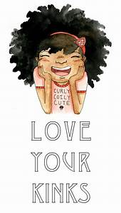 I Love My Natural Hair Art | www.imgkid.com - The Image ...