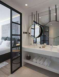 Meilleur Endroit Pour Placer Le Miroir En Feng Shui : miroir chambre design armoire chambre 3 portes avec ~ Premium-room.com Idées de Décoration