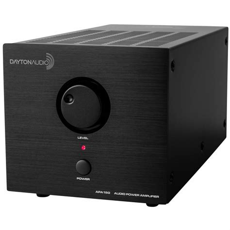 dayton audio apa150 150w power lifier soundimports