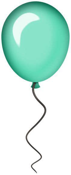 single modern blue balloon png clipart image birthday