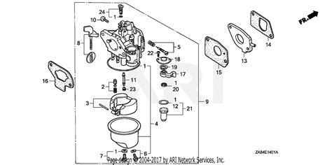Honda Carb Diagram Cleaning by Honda Eg650 A2 Generator Jpn Vin G100 3000001 Parts