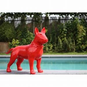 Statue De Jardin En Résine : animal r sine d coratif bull terrier sign texartes ~ Dailycaller-alerts.com Idées de Décoration