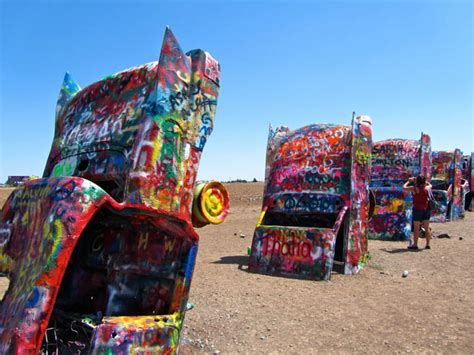 Cadillac Ranch Ct by Great To Visit Along Route 66