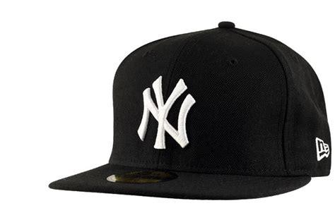Casquette New York Casquette Ny Noir Logo Blanc Par New Era
