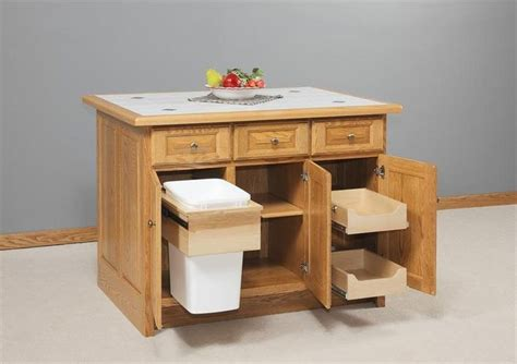 stylish amish furniture solid wood kitchen island