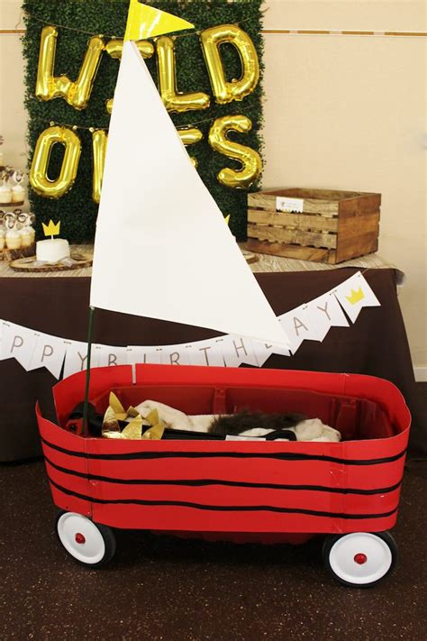 Where The Wild Things Are Wagon Boat by Kara S Party Ideas Where The Wild Things Are Birthday