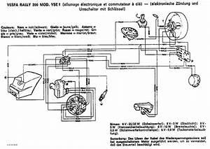Vespa Wiring Schematics Vespa Px Wiring Diagram Vespa 150 Super Wiring Diagram