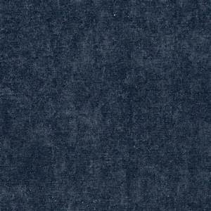 Dark Blue Smooth Velvet Upholstery Fabric By The Yard