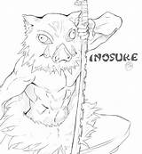 Coloring Slayer Demon Popular sketch template