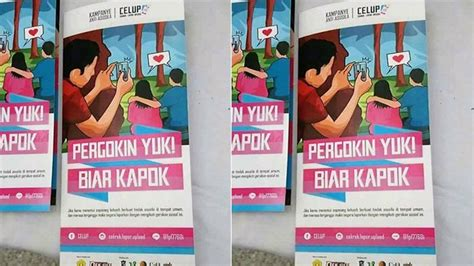 brosur celup kampanye antisusila bikin heboh netizen