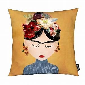 Frida Kahlo Kissen : frida als kissen von treechild juniqe ~ One.caynefoto.club Haus und Dekorationen