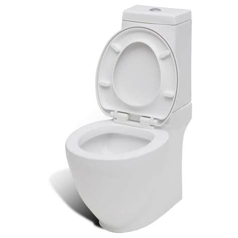 Toilet Bidet Set by Vidaxl Co Uk Stand Toilet Bidet Set White Ceramic