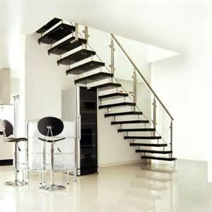 home interior stairs black modern interior design staircase