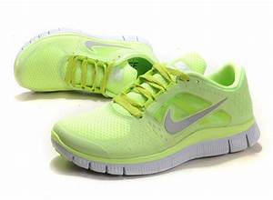 Women's Nike Free Run 3 In Neon Green Shoes Sale,Cheap ...