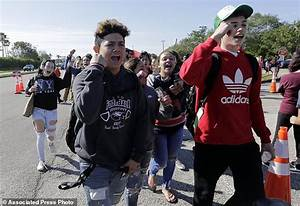 Parkland students lead walkouts to protest gun violence ...