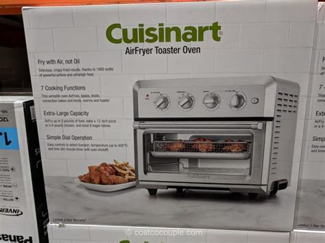 oven toaster cuisinart airfryer costco