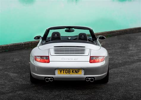 Black 2010 porsche 911 (997) carrera 4s cabriolet mk2; 2008 Porsche 911 997 Carrera 4S Convertible SOLD by Auction | Car And Classic