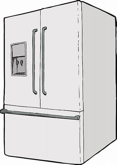 Refrigerator Door Clip Vector Water Configurations Selecting