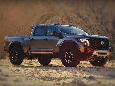 titan warrior la poderosa camioneta conceptual de nissan