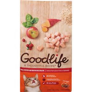walmart cat food goodlife chicken cat food 7 lbs walmart