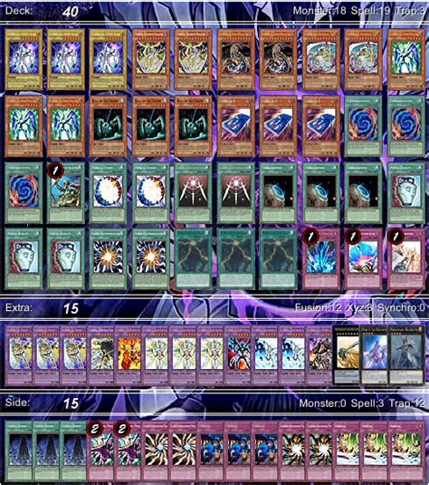 Elemental Deck Recipe 2014 by Deck Recipe Seven Colored Arch Pojo Forums