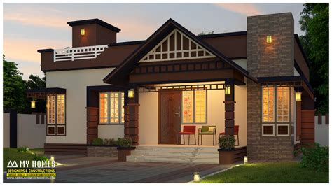 cost square feet bedroom home lakhs kerala home plans