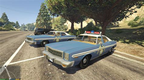 modded muscle cars 1978 plymouth fury police wipers gta5 mods com