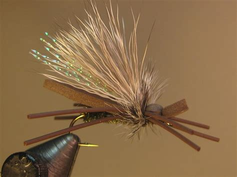 Gypsy King Dry Fly  The Best Stonefly Dry Fly Pattern For