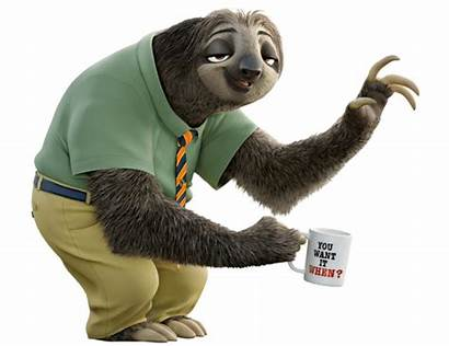 Sloth Zootopia Flash Species Furry Wikifur Fictional