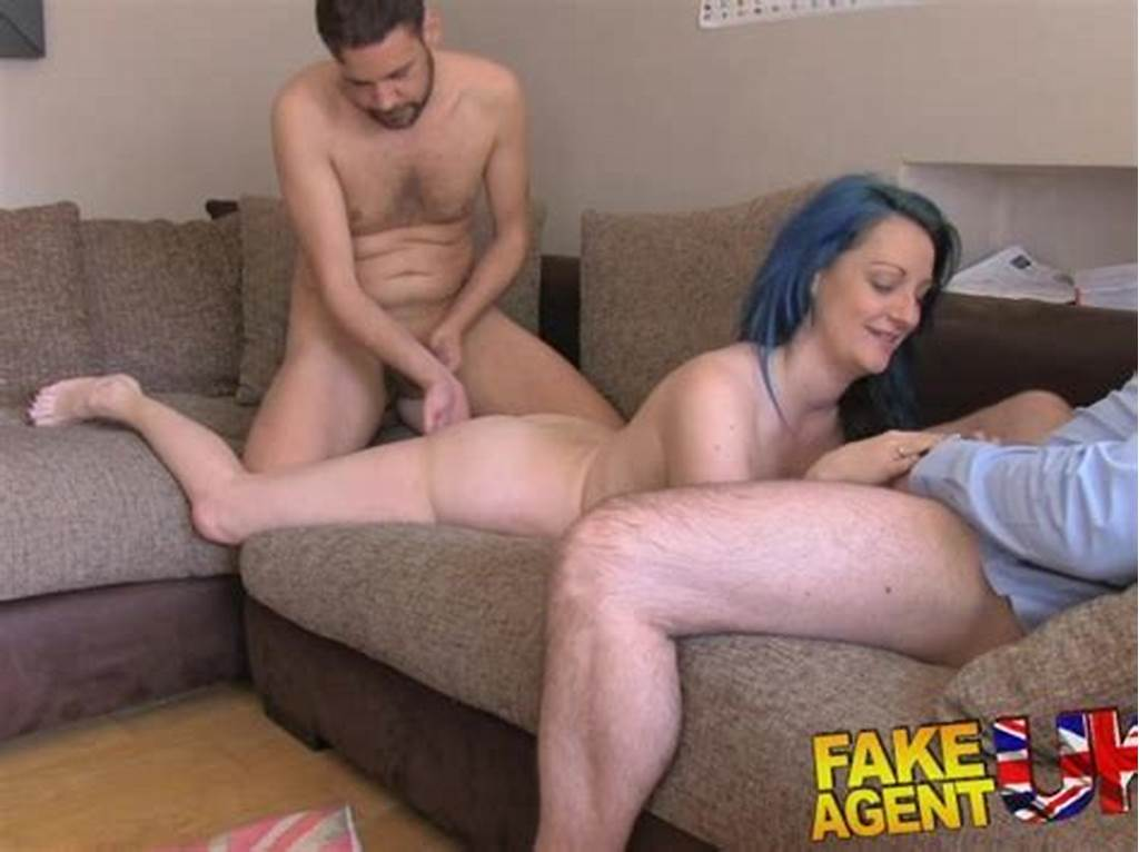 #Fakeagentuk #Threesome #For #Horny #Couple #Want #To #Fuck #On