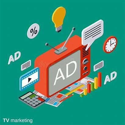 Marketing Advertisement Concept Vectorconcept Reclame Programmatique Isometric