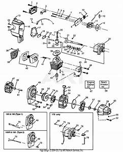 Poulan Pp185r Gas Trimmer  185r Gas Trimmer Parts Diagram