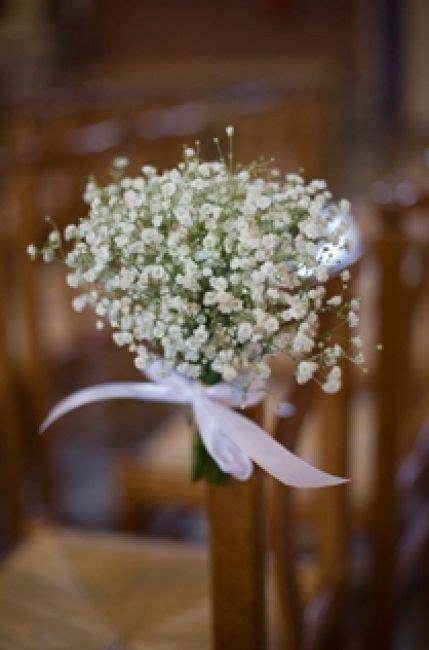deco chaise mariage pour déco banc église deco mariage