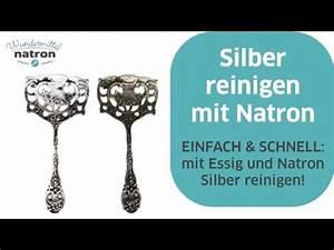 Silber Reinigen Natron : silber reinigen mit natron und essig youtube ~ Markanthonyermac.com Haus und Dekorationen