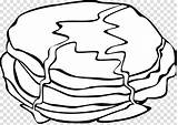 Breakfast Coloring Pages Pancake Clipart Pngkit Popular sketch template