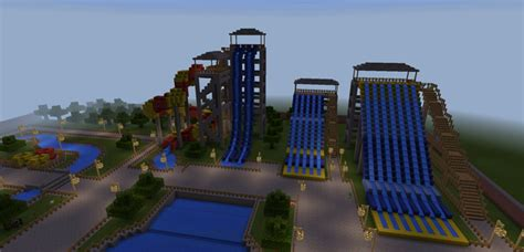 Water Park 19 [creation] Map For Minecraft Pe 1.2.0.7