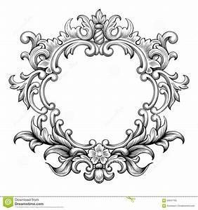 Rahmen Vorlagen Schnörkel : baroque frame engraving scroll ornamente und muster pinterest schn rkel tattoo ~ Eleganceandgraceweddings.com Haus und Dekorationen