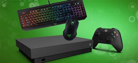 xbox  receiving mouse  keyboard support  week
