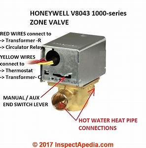 Heating Zone Valve Wiring Faqs How To Connect Or Wire A Heating Zone Valve